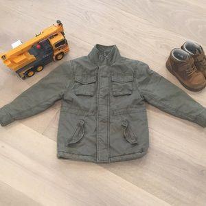 OshKosh • Boys Olive Green Field Jacket